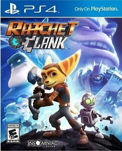 PLAYSTATION 4 PS4 GAME RATCHET AND CLANK BRAND NEW AND SEALED