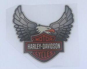 8cm Eagle Reflective Vinyl Decal Sticker For Harley Davidson