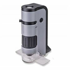 Carson Microflip 100-250x LED Lighted Pocket Microscope With Smartphone