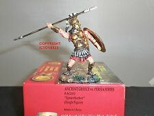 CONTE AG011 ANCIENT GREECE + PERSIA SPARTAN SPEAR CHUCKER METAL TOY SOLDIER