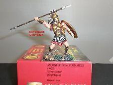 CONTE ag011 ANTICA GRECIA + PERSIA Spartan Spear CHUCKER METAL Toy Soldier