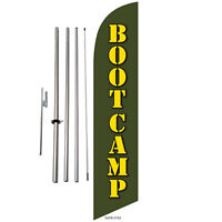 MARTIAL ARTS Windless Swooper Flag Feather Banner Sign 2.5x11.5 rz