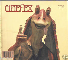 Cinefex #78 Star Wars Episode One The Phantom Menace Rare Behind the Scenes Pics