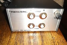 Realistic 42-2109 Stereo Phono Preamplifier Record Player Turntable Pre Amp