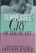 """THOMAS L. """"TENNESSEE"""" WILLIAMS BIOGRAPHY, 1985"""