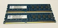 Used 4GB (2X 2GB) DDR3 PC3-10600U Memory/RAM From DELL HP Lenovo Acer Desktop
