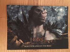The Hobbit Battle Five Armies 70 Base Canvas Card 35/75