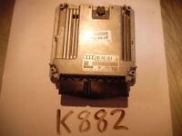 2008 08 2009 09 AUDI A4 COMPUTER BRAIN ENGINE CONTROL ECU ECM EBX  MODULE K882