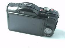 Panasonic LUMIX DMC-GF3 12.1MP Mirrorless Digital Micro 4/3rds Camera Black Body
