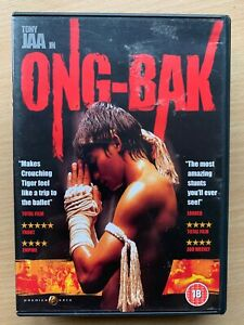 Ong Bak DVD 2003 Thai Martial Arts Movie Classic with Tony Jaa 2 Discs