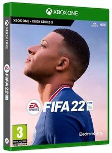 FIFA 22 XBOX ONE/SERIES X MICROSOFT ITALIANO STANDARD EDITION VIDEOGIOCO 2022