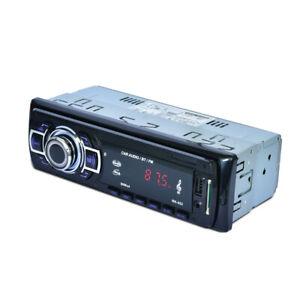 1DIN  USB Car Radio Stereo Audio In-Dash FM Aux In SD Bluetooth MP3 Music Player