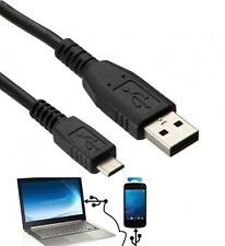 3 M USB a Micro USB 5 Pin cable de carga de datos Plomo Para PC Laptop TELÉFONOS MÓVILES UK