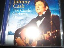 JOHNNY CASH The Classic Christmas Album (Australia) CD – New