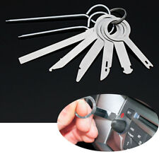 8Pcs/Set Auto Radio Stereo Sound Audio GPS Part Release Removal Keys Tool Metal