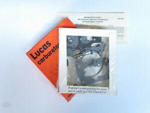 Lucas Carburetor Repair Kit Fits Nissan 720 Pickup 2.0L w/ M.T. 1984   DA21K