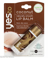 Yes To Coconut Naturally Smooth 99% Natural Oil Of Coconuts LIP BALM 4.2g