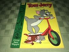 Tom and Jerry 1953 Dell Comic Book #110 MN Stan Musial Cardinals Wheaties Back