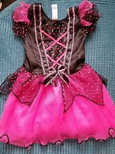 12-24 months 1-2 years girl witch costume haloween dress pink black