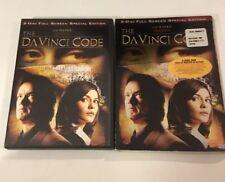 The Da Vinci Code Dvd (Special Edition) (2-Disc Set) Tom Hanks, Audrey Tautou