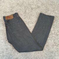 LEVI'S 501 Mens Jeans W31 L31 Grey Straight Regular Fit Vintage Denim