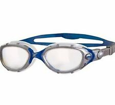 SPORTS DEAL Zoggs Predator Flex Adult Swimming Goggles - Clear/Blue