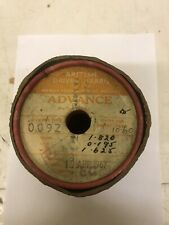 BRITISH DRIVER HARRIS VINTAGE SMALL DRUM OF FINE WIRE RADIO/TELEPHONY REPAIRS.