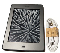 Amazon Kindle Touch (4th Generation) 4GB, WiFi, 6in, Gray, eReader - w/Ads
