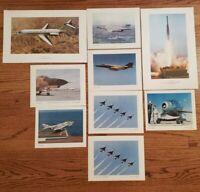 Mcdonnell douglas Lot of 9 Vintage Poster Cards