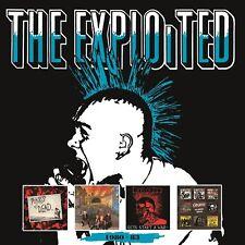 THE EXPLOITED - 1980-83 4 CD NEUF