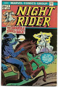 NIGHT RIDER#5 FN/VF 1975 MARVEL BRONZE AGE COMICS