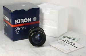 Vintage KIRON 28mm f2 Wide Angle Manual Prime Lens. For Pentax K Mount. JAPAN