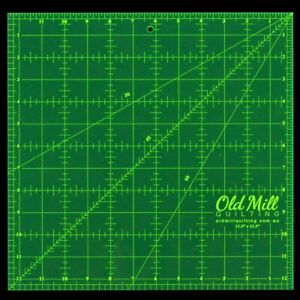 Ruler 12.5 x 12 .5 Inch Square Matildas Own Quilting Sewing Craft Measure