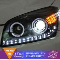 For Toyota RAV4 2009-2012 Headlights Double Lens Beam Projector HID LED DRL