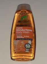 Dr Organic Manuka Honey Body Wash 250ml, Daily Bath & Shower Gel!