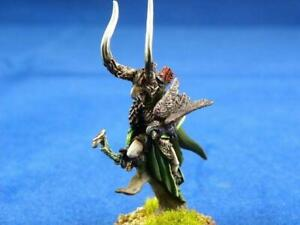 Warhammer painted wood Elf Lord With Bow