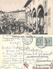 Firenze dintorni . Impruneta - Loggie di Chiesa in Piazza Grande 1912 (A-L 576)