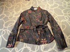 Blusa negra bordada estilo oriental. Talla 40-42. Mira mis otros artículos.