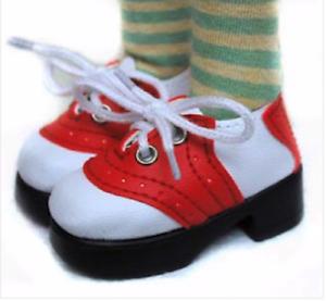 "63/25 Monique Doll Shoes, Mimi Saddle Oxford, For 2 ½"" size foot BJD, OOAK Dolls"