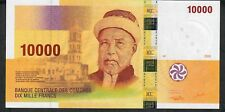 COMOROS P19a 10.000 or 10000 FRANCS  2006 signature 7 prefix C     UNC.