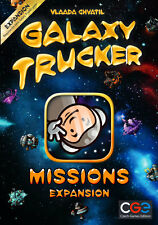 Galaxy Trucker Missions Expansion Game Czech Games Edition CGE 00035 Chvatil