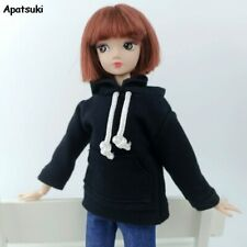 Fashion Hoodies For Barbie Doll Sweatshirt Outfits Doll Clothes For Blythe 1/6