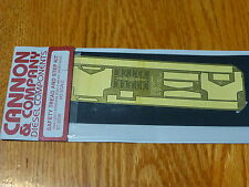 Cannon & Company HO #2036 Safety Tread & Step Kit/ For New (2007 Run) Athearn SD