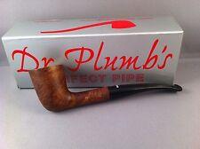 SMOKING PIPE Dr Plumb City - 10 Matt Brown Straight Stem Pipe