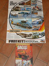 "EAGLE Comic - Date 02/04/1983 - Inc MATCHBOX FLYER POSTER "" - UK Paper Comic"