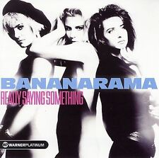Really Saying Something: The Platinum Collection by Bananarama (CD 2005) USED VG
