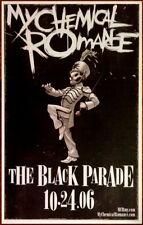 MY CHEMICAL ROMANCE The Black Parade Ltd Ed Discontinued NEW RARE Poster Print!