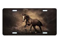 BROWN HORSE LICENSE PLATE CUSTOM CAR TAG NOVELTY