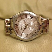 EMPORIO ARMANI AR1788 STAINLESS STEEL MENS WATCH RRP £259