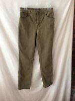GloriaVanderbilt Pants ~ Size 8 ~ Green  ~ Chino